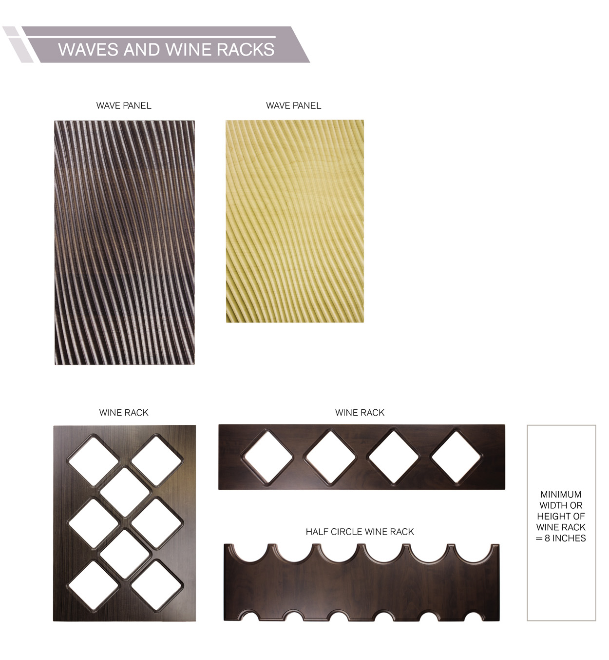 wave and w racks